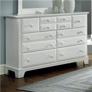 Vaughan Bassett Hamilton Franklin 7 Drawer Dresser Chest