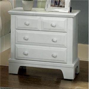 Vaughan Bassett Hamilton Franklin Night Stand - 2 drawers