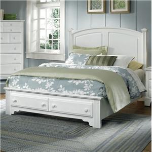 Vaughan Bassett Hamilton Franklin Queen Panel Storage Bed