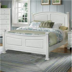 Vaughan Bassett Hamilton Franklin Queen Panel Bed