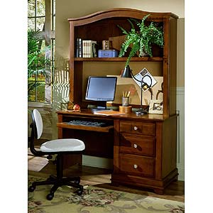 Vaughan Bassett Cottage Desk & Hutch