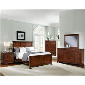 Vaughan Bassett Forsyth Full Bedroom Group