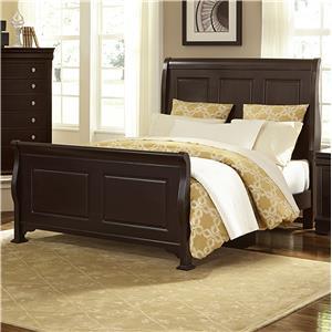 Vaughan Bassett French Market Queen Sleigh Bed