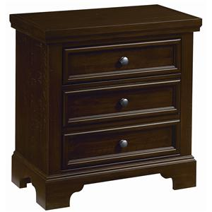 Vaughan Bassett Hanover Night Stand - 2 Drawers