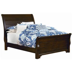 Vaughan Bassett Hanover Full Sleigh Bed