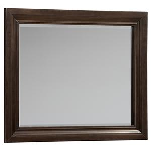 Vaughan Bassett Knightsbridge Landscape Mirror - Beveled Glass