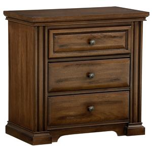 Vaughan Bassett Knightsbridge Night Stand - 3 drawers