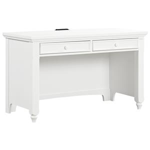 Vaughan Bassett Nantucket Laptop/Tablet Desk - 2 Drawers