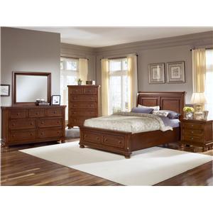 Vaughan Bassett Reflections King Bedroom Group