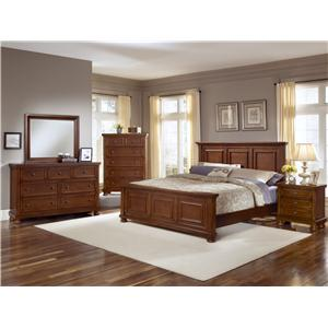 Vaughan Bassett Reflections Full Bedroom Group