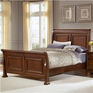 Vaughan Bassett Reflections King Sleigh Bed