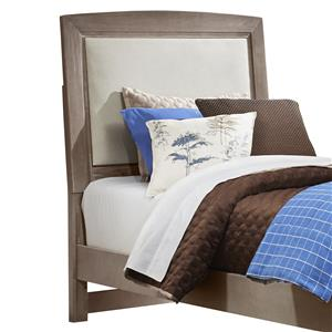 Vaughan Bassett Transitions Twin Upholstered Headboard, Base Cloth Linen
