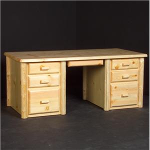 """NorthShore by Becker Home Office 60"""" Desk"""