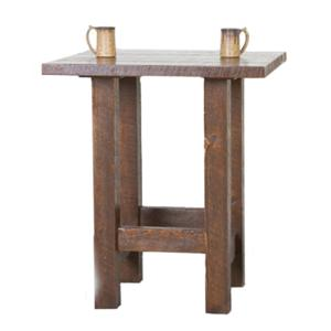 NorthShore by Becker Log Furniture Barnwood Pub Table