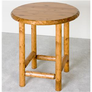 NorthShore by Becker Log Furniture Log Pub Table