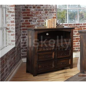 Vintage CAM40 Solid Wood Media Chest