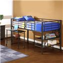 Twin Loft Bed with Storage and desk