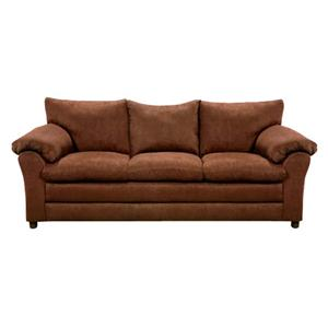 Washington Furniture Microfiber Chocolate Sofa