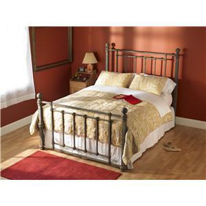Wesley Allen Iron Beds Queen Hancock Poster Bed