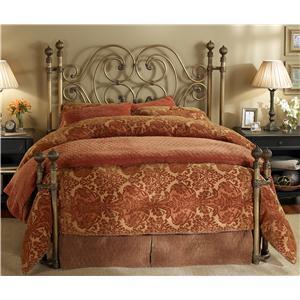 Wesley Allen Iron Beds King Alhambra Iron Headboard Bed