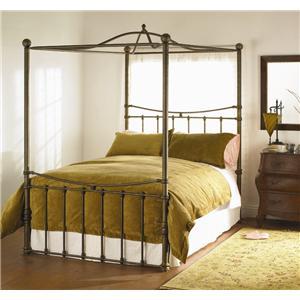 Wesley Allen Quati  Queen Headboard and Footboard Bed