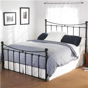 Wesley Allen Quati  Queen Headboard and Footboard Bed