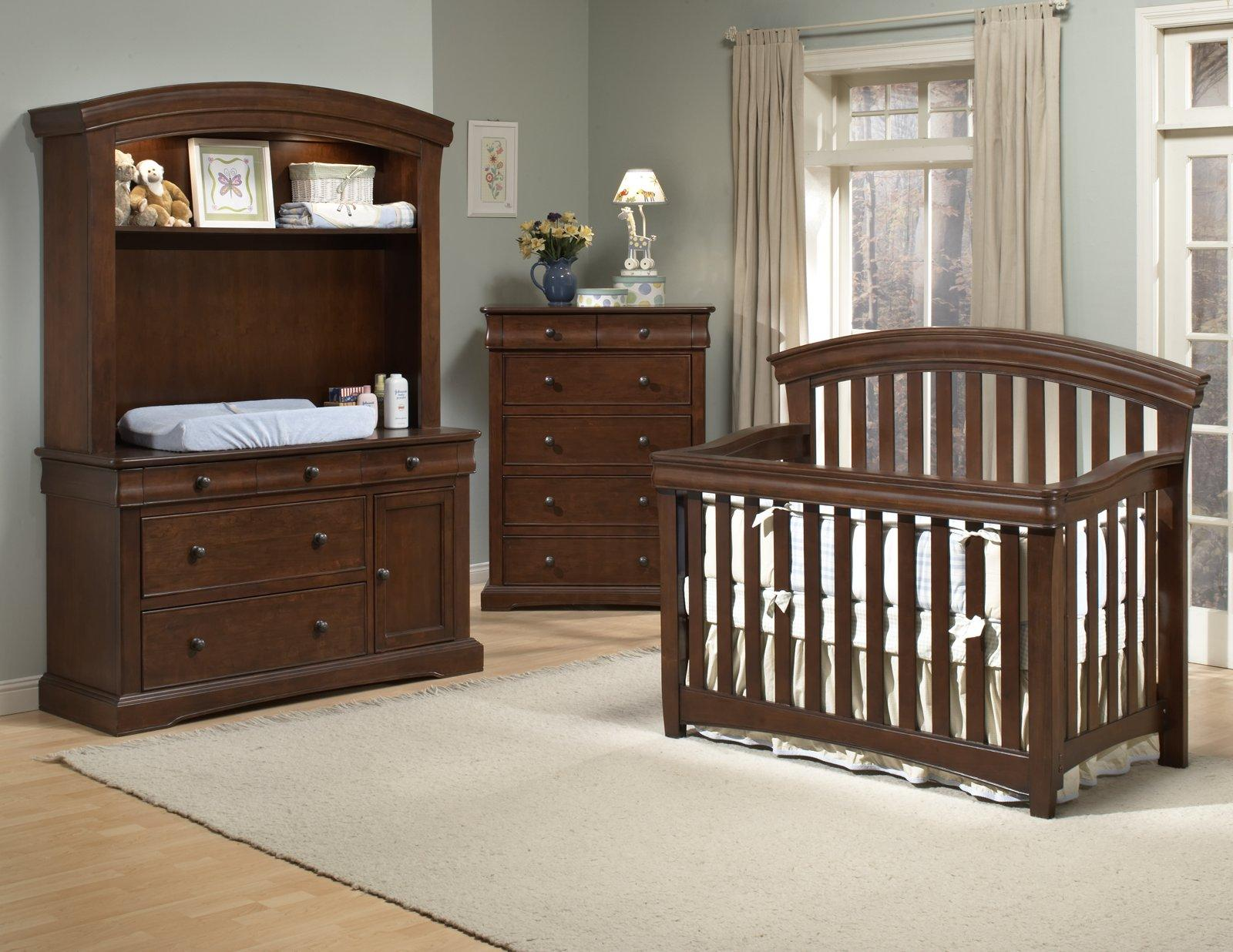 geneva crib design dp westwood rail toddler baby amazon chocolate cribs com guard mist