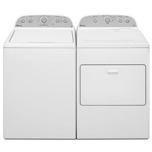 Whirlpool Washer and Dryer Sets Top Load Washer and Electric Dryer Set