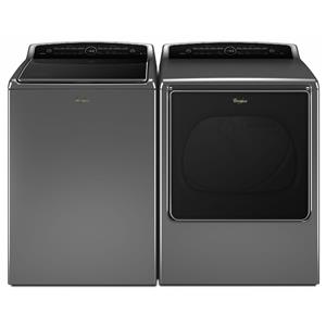 Whirlpool Washer and Dryer Sets Top-Load Washer and Front-Load Elec Dryer