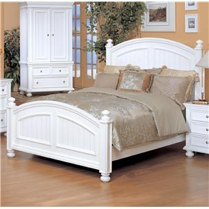 Winners Only Cape Cod  Queen Panel Bed