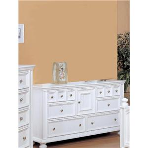 Winners Only Cape Cod  Six Drawer Dresser