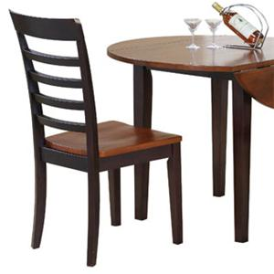 Winners Only Contemporary Farmhouse Ladderback Dining Side Chair