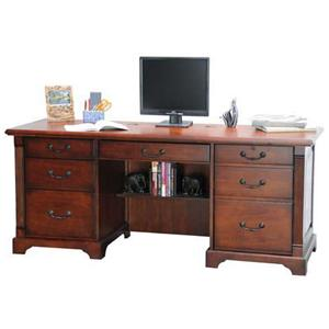 "Winners Only Country Cherry 72"" Country Cherry Computer Credenza"