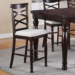 Winners Only Hamilton Park Double X-Back Stools