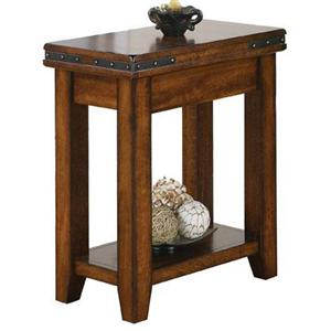 "Winners Only Mango 14"" Small End Table"