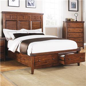 Winners Only Mango Queen Panel Storage Bed