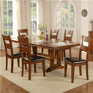 Winners Only Mango 7 Piece Table and Chair Set