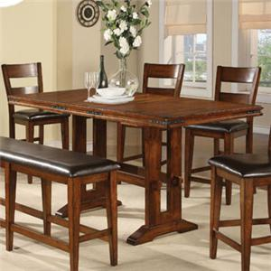 Winners Only Mango Tall Trestle Table