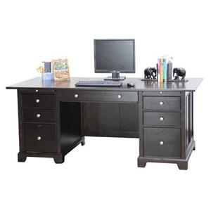 Winners Only Metro  Double Pedestal Flattop Desk