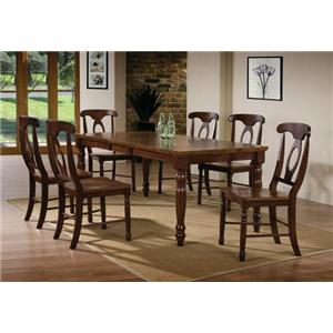 Winners Only Pelican Point 7 Piece Dining Table and Chair Set