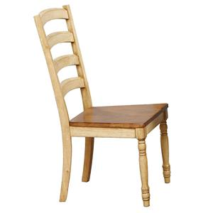 Winners Only Quails Run Ladderback Side Chair