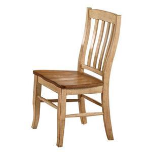 Winners Only Robins Lane Rake Back Side Chair