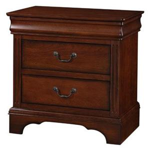 Winners Only Renaissance Three Drawer Nightstand