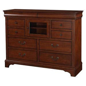 Winners Only Renaissance Ten Drawer Tall Dresser