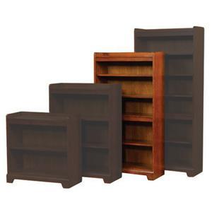 """Winners Only Topaz  60"""" Open Bookcase"""
