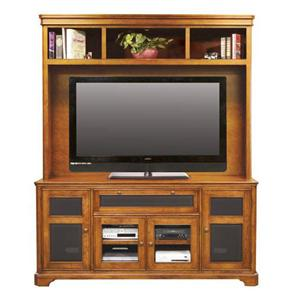 """Winners Only Topaz  74"""" Media Base and Hutch"""