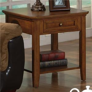 """Winners Only Topaz 23"""" End Table"""