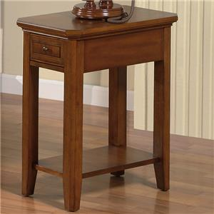 """Winners Only Topaz 14"""" End Table"""