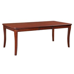 """Winners Only Topaz 78"""" Leg Table with One 18"""" Leaf"""