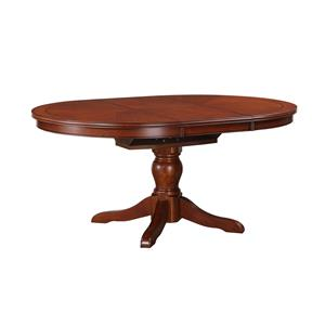 "Winners Only Topaz 66"" Pedestal Table"